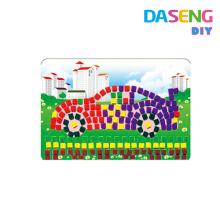 Diy EVA kit de artesanía de mosaico pegajoso para niños