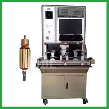 Automatic rotor performance testing machine