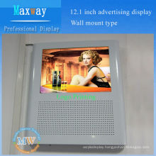 "nice design 12"" wall mounted elevator lcd monitor"