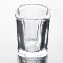 Venta al por mayor Crystal Square Wine Jars Glass Set