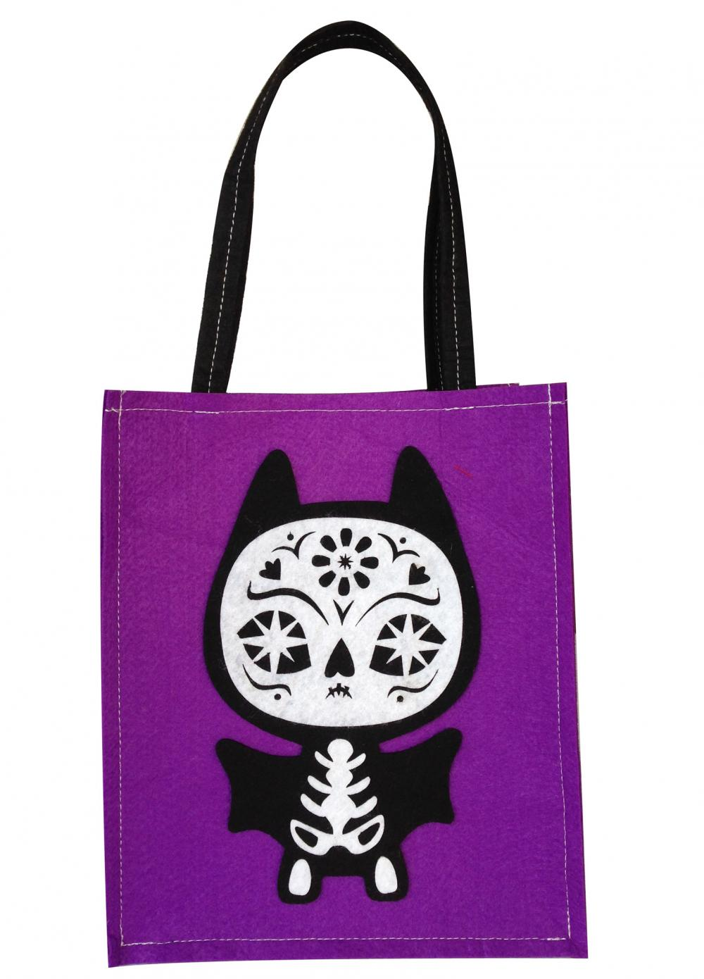 Halloween Purple Gift Bag