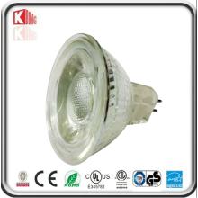 Bombillo LED MR16 de alto rendimiento de luz LED de alta potencia 5W