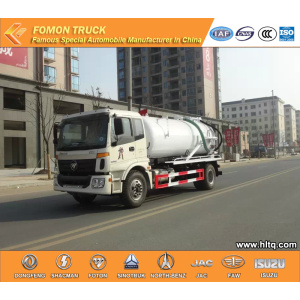 FOTON 10000L Suction Sewer Truck