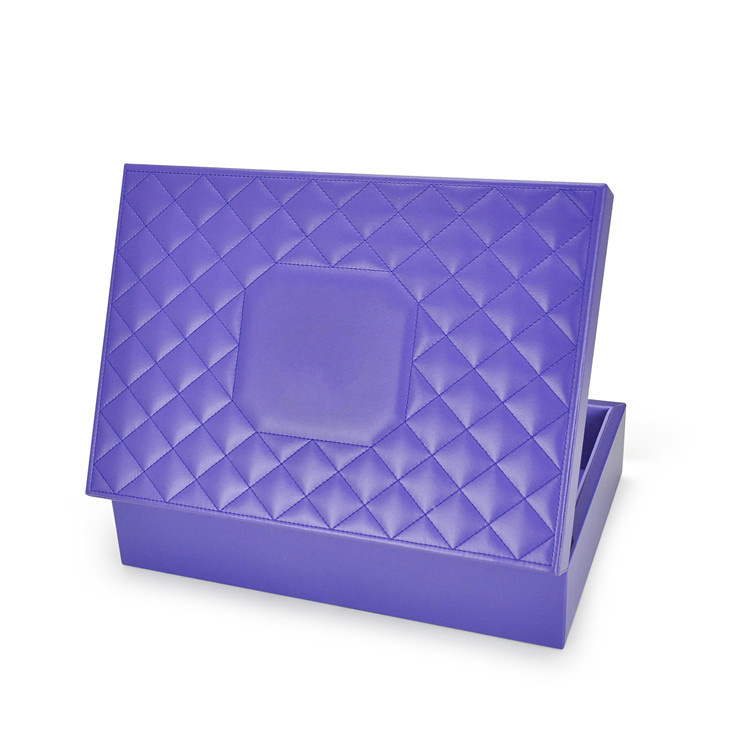 Pu Cover Mdf Cosmetic Gift Box