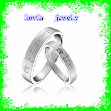 Jewelry Rings Manufacturer Western Wedding Band for Wedding Ring and Couple Silver Ring