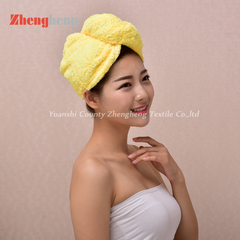 Coral Fleece Hair Cap (13)
