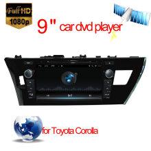 Reproductor de DVD Android para Toyota Corolla Navegación GPS