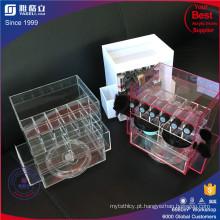 China fabrica a lente de batom acrílica personalizada girando
