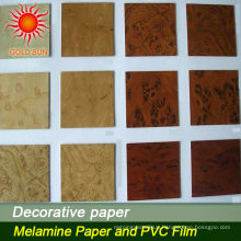 hot sale wood grain decorative laminated paper for flooring