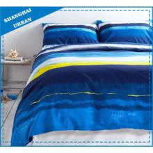Océano Impressionista impreso algodón edredón cubierta de cama