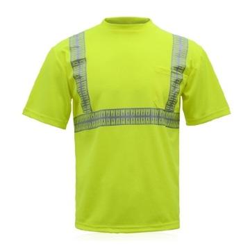 Reflective Polyester Sports T Shirts Wholesale