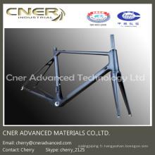 Cadre de bicyclette de haute résistance, cadre de fibre de carbone Bke de route