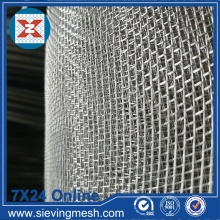 Nhôm Crimped Wire Mesh sàng