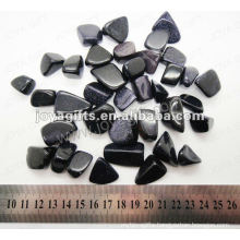Blue gold stone tumbled stone,high polish