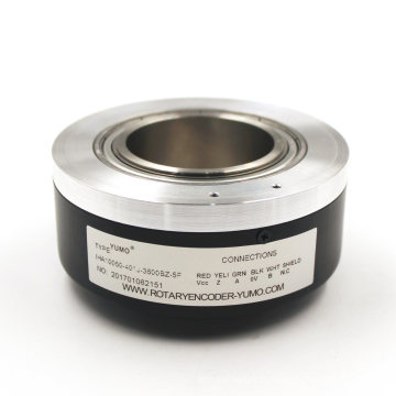 Encodeur rotatif incrémental à arbre creux Iha10050 Od100mmid50mm 3600PPR