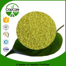 Engrais granulés à l'azote granulés à l'urée 46 haute qualité