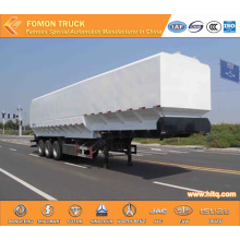 3-axle 55m3 bulk feed semi trailer