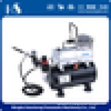 HSENG AS186K PRO SYSTÈME DE DÉCORATION DE BOLES 3 Kit Airbrush 12 Color Coloring Set Compressor