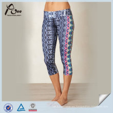 Wholesale Subliamtion Capris de la moda para el yoga