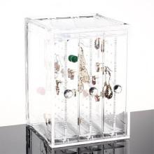 Werbung Acryl Schmuck Display Box für Ohrring