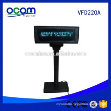 Cheap Serial USB Supermarket POS VFD Customer Display Pole From Factory