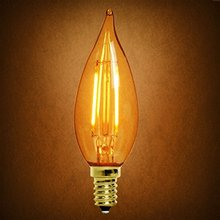 Tc32 3.5W Amber Candle Bulb Dimming LED Filament Bulb
