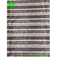 Super Soft Stripe Printing Bronzing Fabric (BS8127)