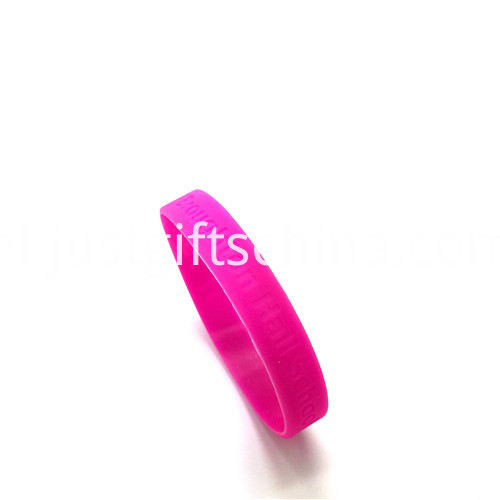 Promotional Debossed Silicone Wristbands-202122mm2