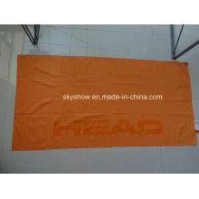 Гладкое пляжное полотенце из микрофибры (SST1073)