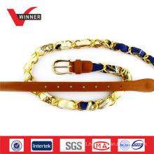 Copper buckle material metal belt