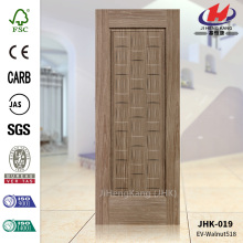 MDF Depth Size Design Dark Walnut Door Panel