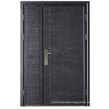 Modern Solid Rolling Door Cast Aluminum Door Automatic Gate Security Door