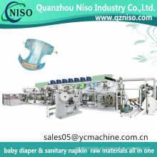 Nueva máquina económica del pañal del bebé del diseño Chiaus