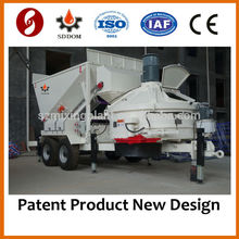 Nuevo diseño MB1800 Planta de hormigón móvil de hormigón