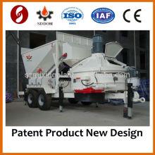 Мобильный бетонный завод MB1800 нового дизайна