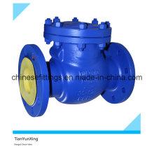 H44h DIN3202 Válvula de retenção flangeada de ferro fundido dúctil