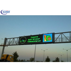 Outdoor Waterproof P10 Dual Color Traffic LED Screen