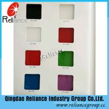4-8mm vinho vermelho / azul / amarelo / branco / preto pintura de vidro / vidro de apoio