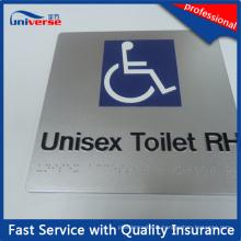 Signaux braille standard australien pour toilette avec 2 couleurs