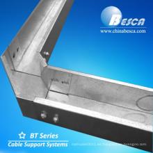 Divisor de cable divisor sólido galvanizado en caliente