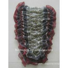 La dernière écharpe élastique pour impression de mode