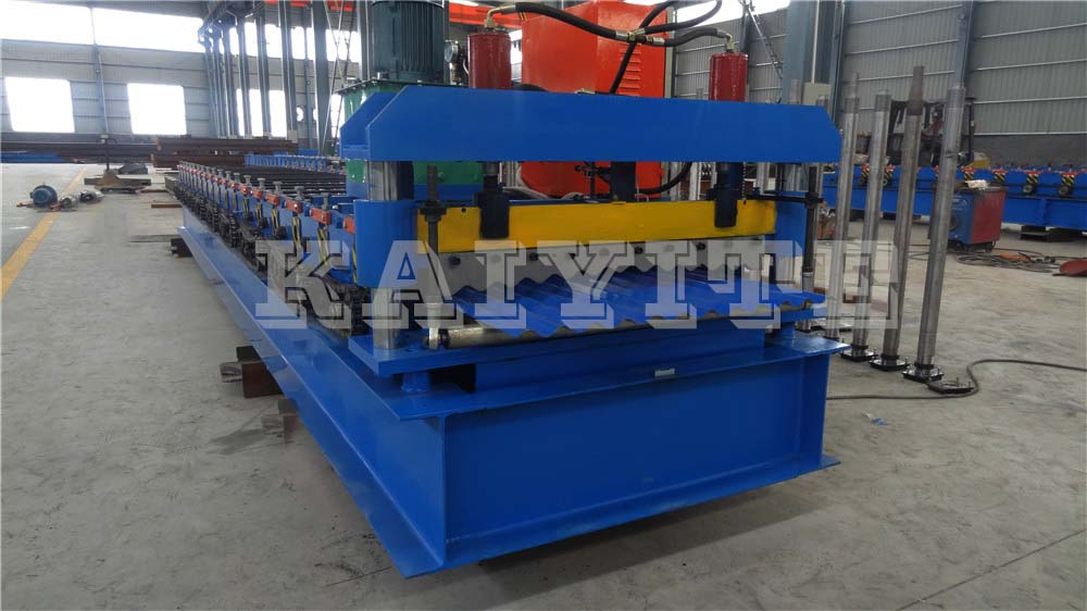 Corrugated Metal Roofing Sheet Roll Forming Machinery
