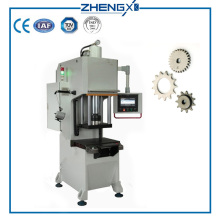 C Frame Powder Forming Hydraulic Press Machine 10Ton