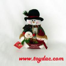 Plüsch Snowman Weihnachtsdekoration Spielzeug