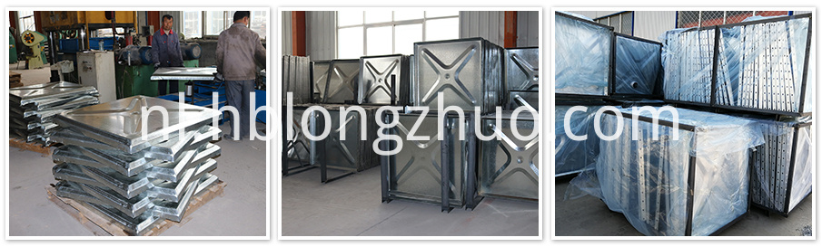 Hot-dip Galvanized Steel Water Storage Tank