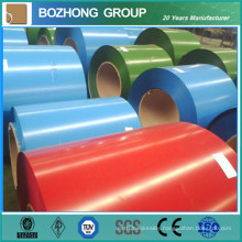 PE PVDF Colored Roller Coated 6063 Aluminum Coil