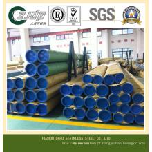 ASTM 304 Tubulação Soldada de Aço Inoxidável 316L