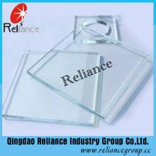 Vidro Super Transparente / Transparente de 8mm 10mm de 8mm com Certificados Ce / ISO