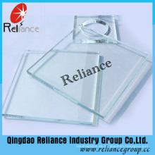 5mm 6mm 8mm Super Clear Float Glas mit Ce / ISO Zertifikat
