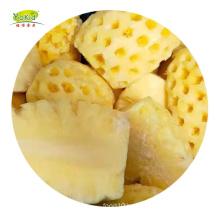 IQF Frozen Half Pineapple Shell